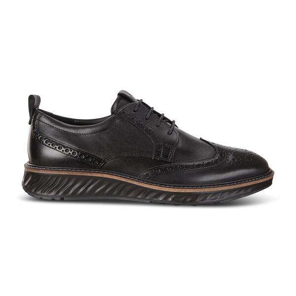 ECCO ST.1 Hybrid Wingtip Derby Shoes